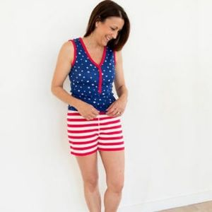 Hanna Andersson Fourth of July Women's Tank Set